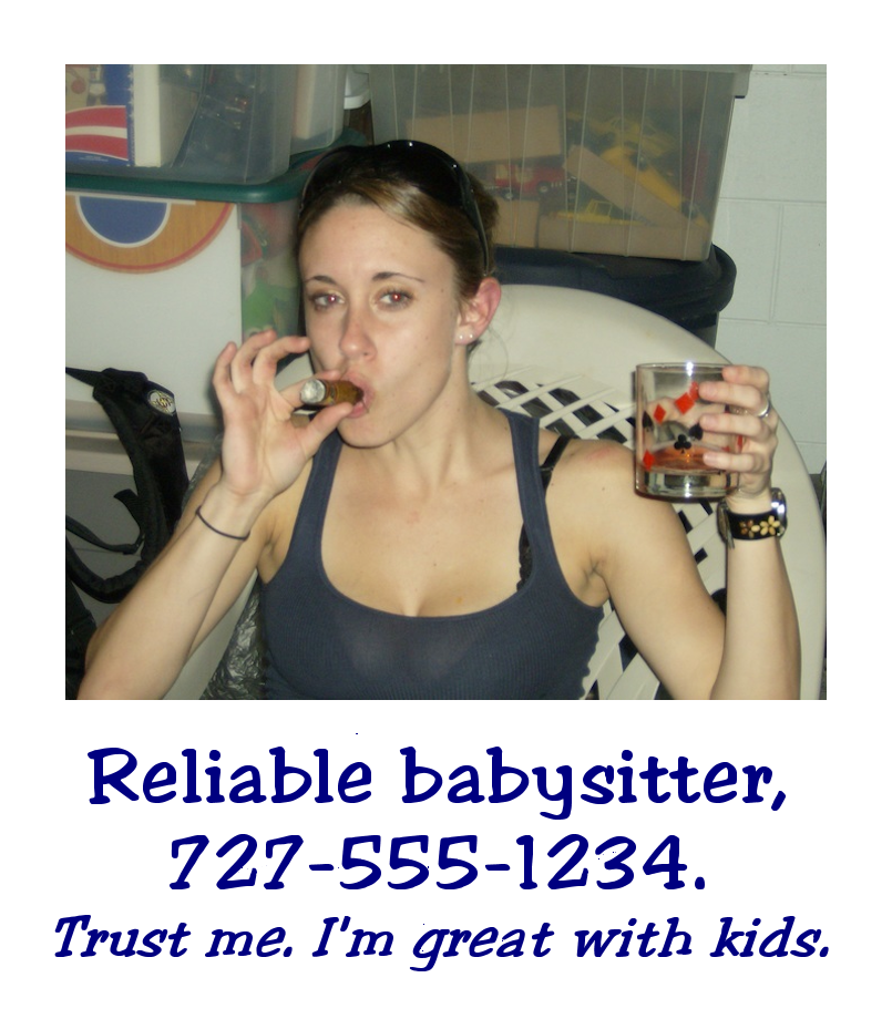 looking for a job as a babysitter