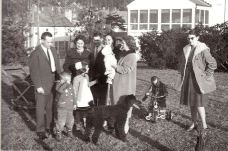 1959 photo of the Matthews family